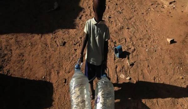 Plus d'un tiers de l'humanité soit plus de 2 milliards d'habitants survivent avec moins de 5 litres d'eau par jour