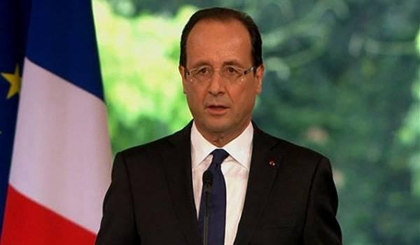 François Hollande au creux de la vague.