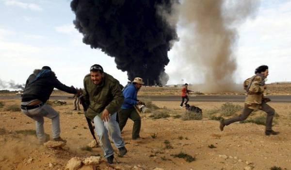 De nombreuses sources évoquent une très possible intervention militaire occidentale en Libye les prochains mois. Photo archives.