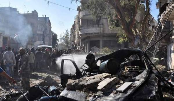 La guerre civile a meutrie la Syrie