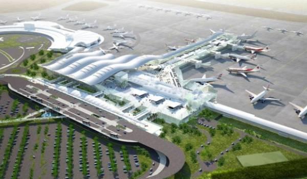 L'aérogare en construction aura une capacité de 10 millions de passagers par an,