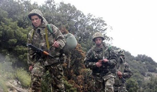 L'Armée en ratissage à Sidi Ali Bounab