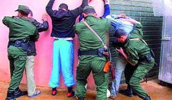 Les gendarmes ont arrêté deux bandes de trafiquants mardi. Phioto Archives