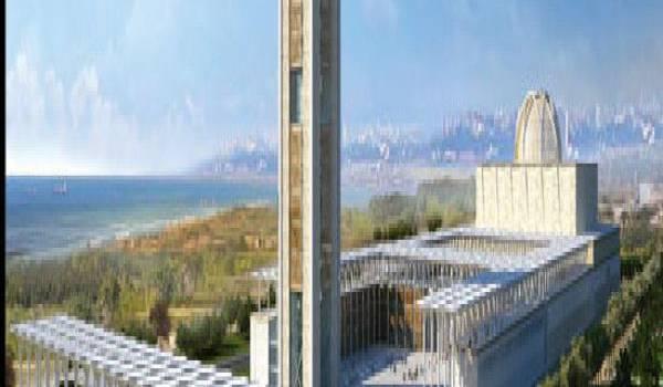 La Grande mosquée d'Alger objet de controverse entre spécialistes.