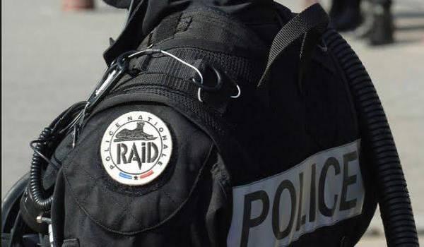 Les policiers de la DGSI ont neutralisé un individu prêt à commettre un attentat. Photo François Navarro.