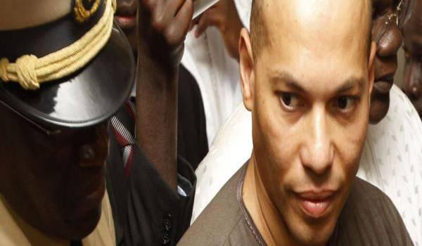 """Karim Wade, fils de l'ancien président du Sénégal,condamné pour """"enrichissement illicite""""."""