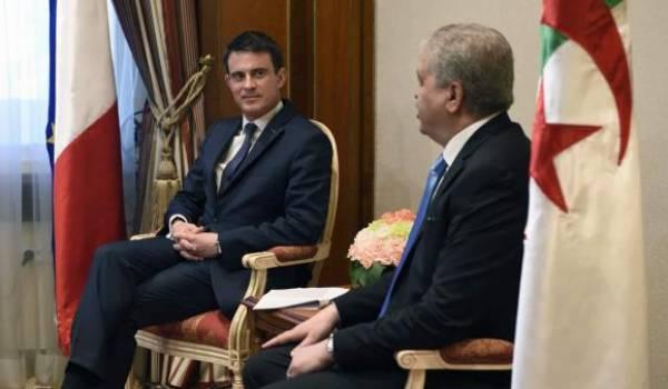 Contrairement aux annonces rien de bien exceptionnel dans le dernier voyage de Valls à Alger.