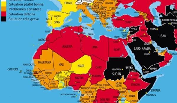 L'Algérie a reculé de 10 places en une année