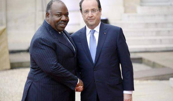 Ali Bongo avec François Hollande