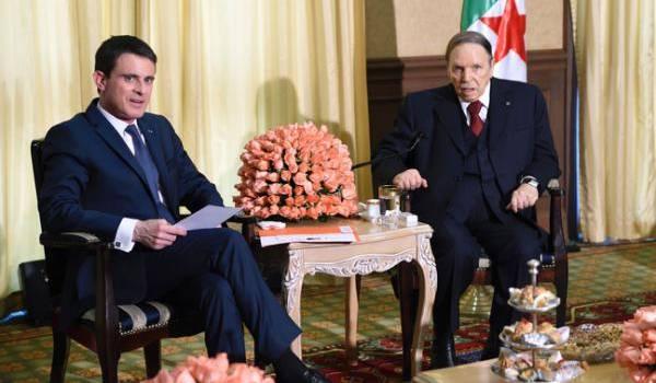 Rencontre dans la résidence de Zéralda entre Bouteflika et Valls