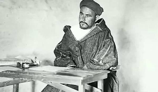 Abdelkrim Khattabi, héros de la résistance rifaine.