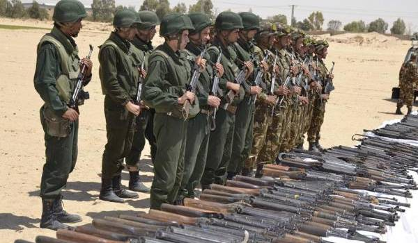 L'ANP a mis la main sur un impressionnant arsenal de guerre