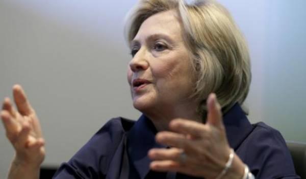 La candidate Hillary Clinton avoue l'échec de l'intervention en Libye.