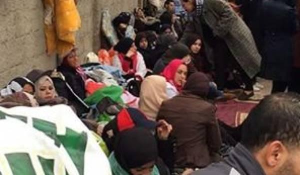 Les contractuels poursuivent leur grève de la faim