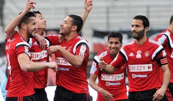 L'USM Alger sur le trône du championnat.