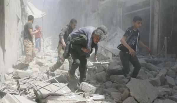 Les avions d'Al Assad continuent de tuer des centaines de Syriens.