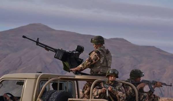 L'ANP en opération quelque part en Kabylie.