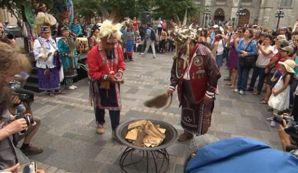 Les peuples premiers ne sont pas respectés par le gouvernement canadien.