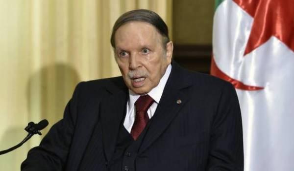 Abdelaziz Bouteflika qui a annhilé le travail de la justice algérienne en appelle à la justice française.