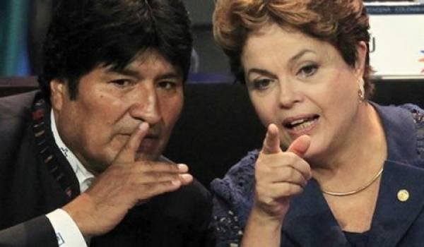 Les conservateurs libéraux pro-américains ont eu raison de Dilma Rousseff et Evo Morales.