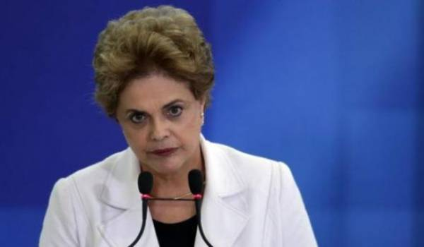 Dilma Rousseff  destituée de la présidence brésilienne.