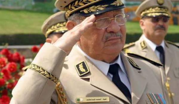 Gaïd Salah, patron de l'Armée et jusque-là soutien fidèle de Bouteflika