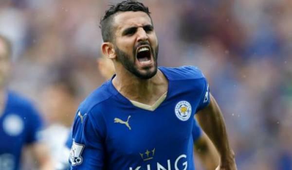 Mahrez et Leicester devaient être sacrés champions d'Angleterre rapidement.