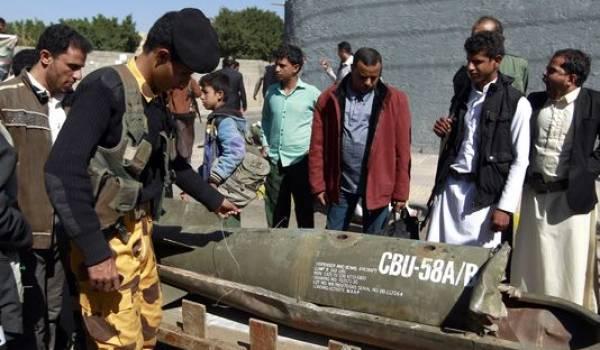 La coalition que dirige l'Arabie saoudite ne réchigne pas à bombarder écoles et population yéménites.