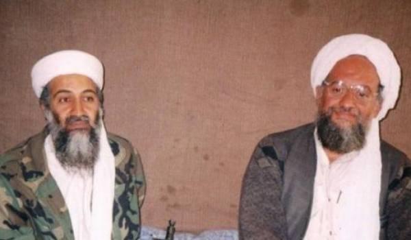 Ayman al-Zawahiri et Ben Laden.