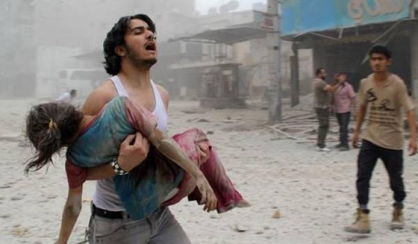 Le peuple syrien paye un très lourd tribut dans cette guerre qui lui échappe.