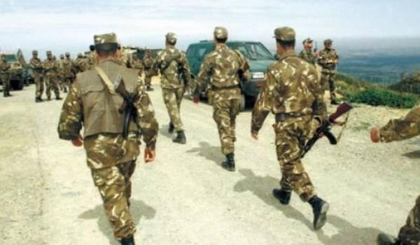 Une unité de l'ANP en opération