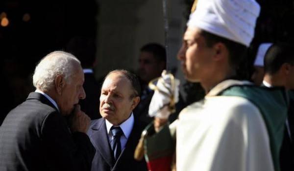 Boualem Bessaïeh et Abdelaziz Bouteflika, il y a quelques années.