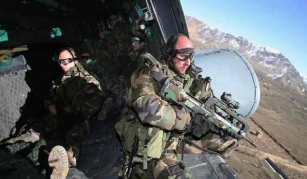 Les forces spéciales françaises en opération.