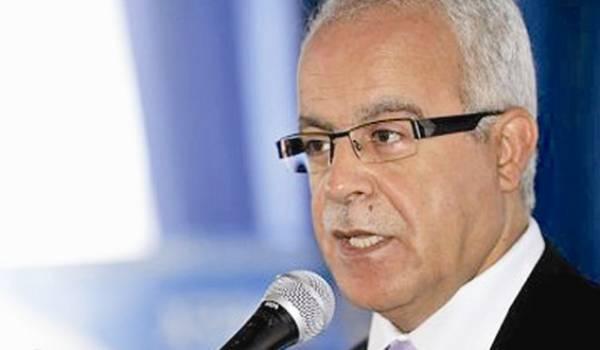 Hamid Grine, ministre de la communication.