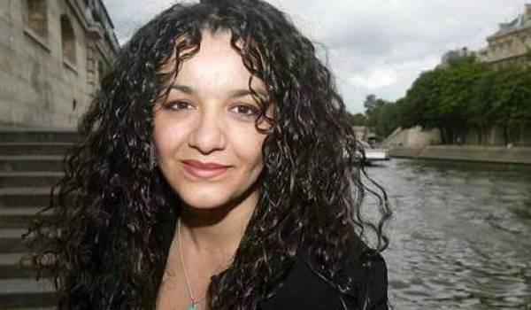 Nadia Matoub, la veuve de Lounès Matoub.