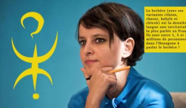 Najat Vallaud-Belkacem, la ministre de l'Education nationale en France.