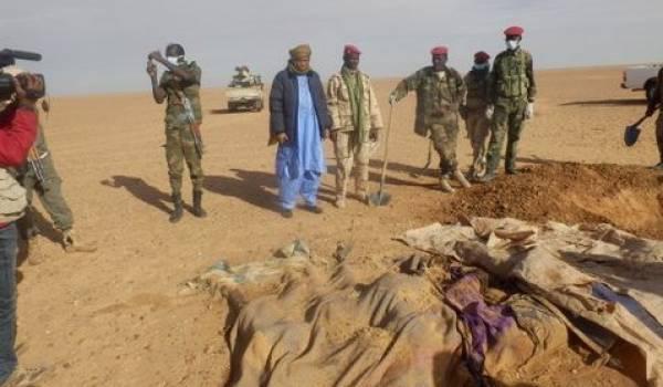 Parmi les victimes, 20 enfants ont aussi péri de soif en plein désert. Photo DR.