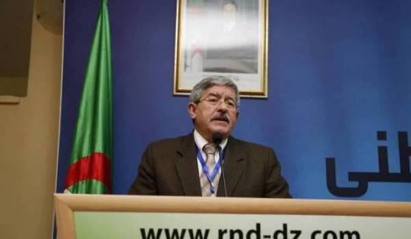 Ahmed Ouyahia, SG du RND