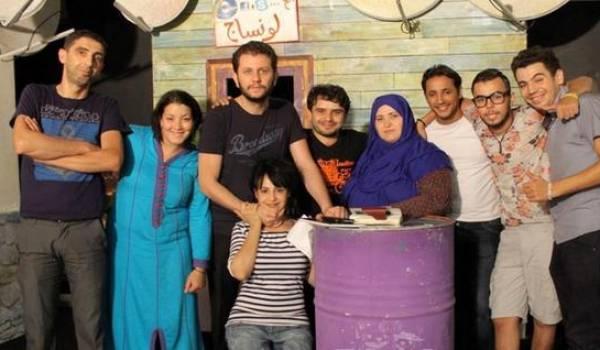 L'équipe de Nass Stah de KBC.