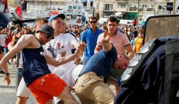 Marseille transformée en champ de bataille le week-end dernier.