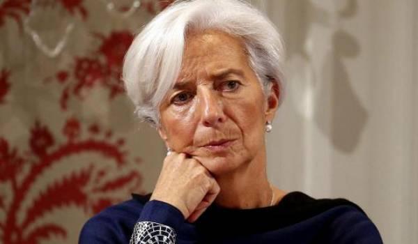 Christine Lagarde, patronne du FMI