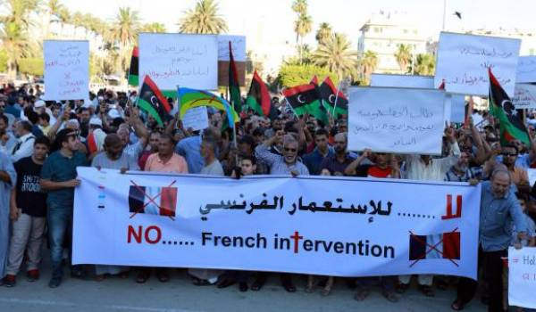 "Le gouvernement libyen accuse la France de ""violation de son territoire"""