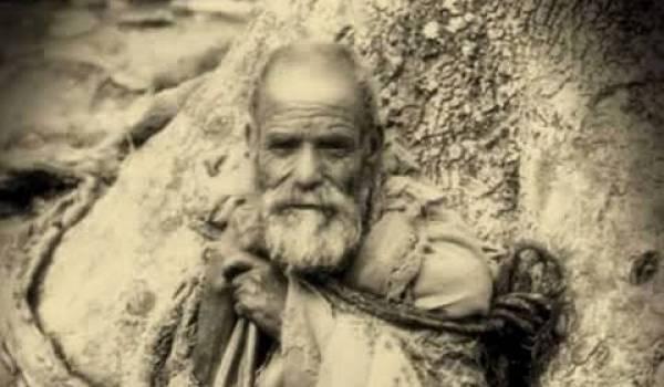 Photo présumé du poète errant kabyle Si Moh Ou Mhand