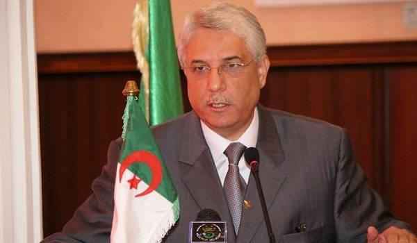Tayeb Louh, ministre de la Justice.