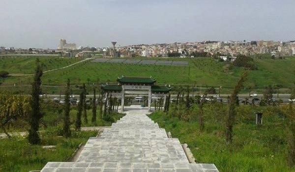 65 ha détournés au parc des Grands Vents (Dounia Parc) d'Alger