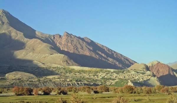 la province montagneuse et isolée de Ghor
