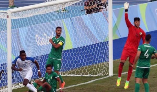 L'Algérie essuie son premier échec. Photo AFP