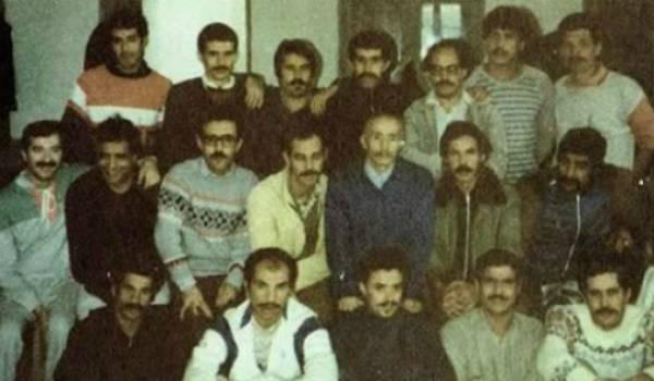 L'élan d'espoir suscité par l'élite du printemps 80 (ici des détenus du MCB de 1985) a vu leur majorité replonger dans l'anonymat.
