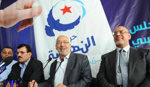 Ghannouchi, le patron du parti islamiste tunisien.