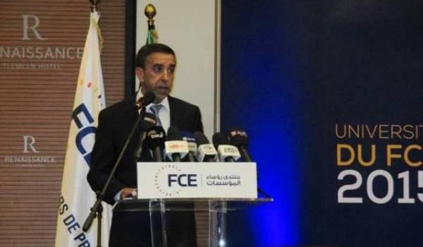 Ali Haddad, patron du Forum des chefs d'entreprises algériens.